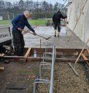 Eingang Mühlenweiher-Stadion…Fortsetzung