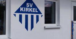 Mühlenweiher-Stadion nun mit Emblem